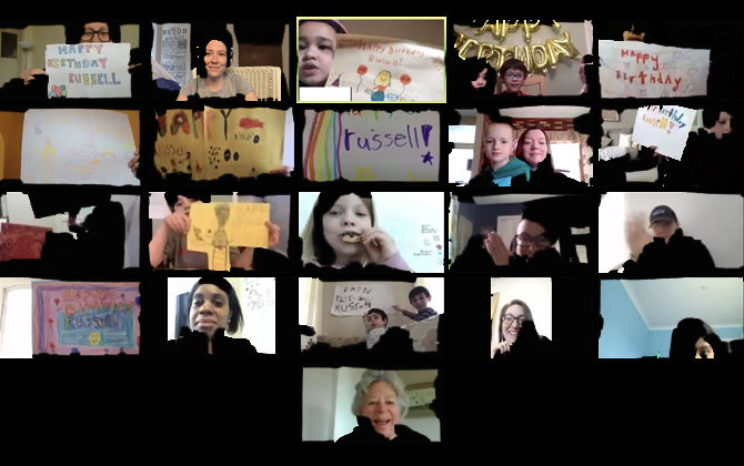 Celebrating Birthdays…Virtually! thumbnail image